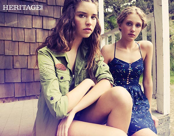 Heritage 1981 Fashion Campaign by Chris Kilkus Photography