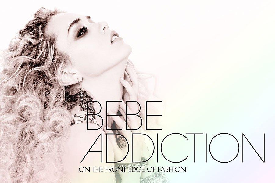 bebe fashion campaign