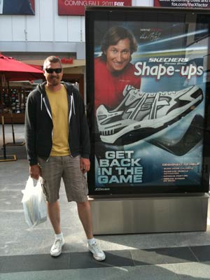 Wayne Gretzky for Skechers by Chris Kilkus Photo
